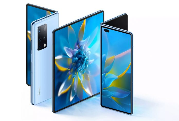 Huawei takes on Samsung with the foldable Mate X2