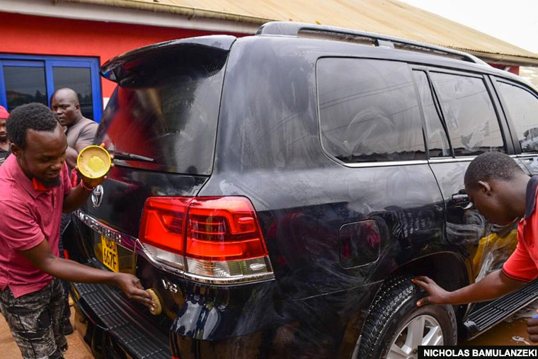 Bobi Wine petitions court over his car