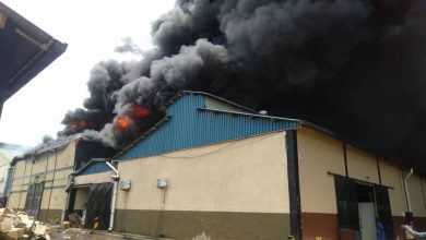 Fire guts Joint Medical Stores warehouse